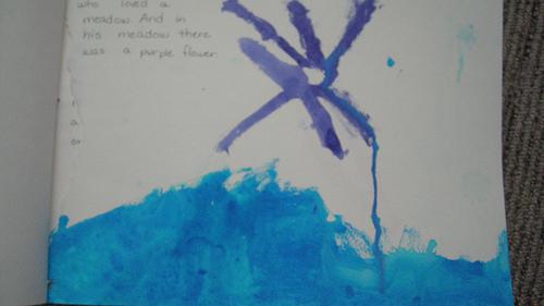 handmade book - page 1