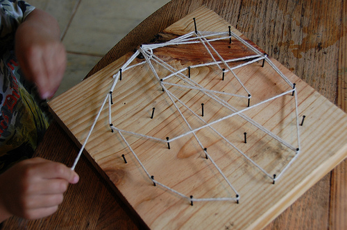 spider web craft project
