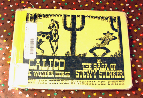 vintage book: Calico the Wonder Horse