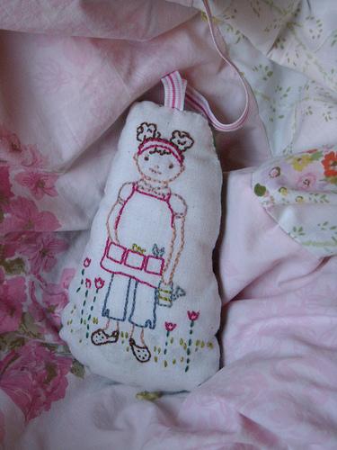 stitchette for the quilt pocket