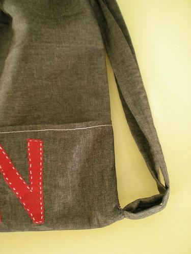 N detail - backpack