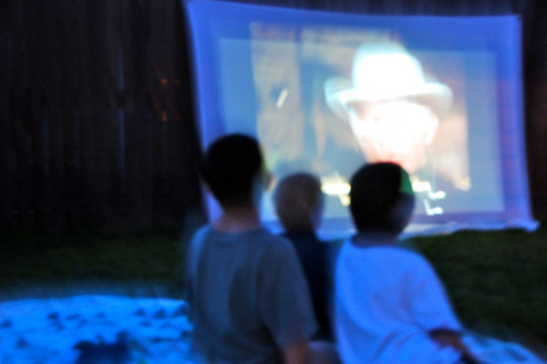 backyard movies are back