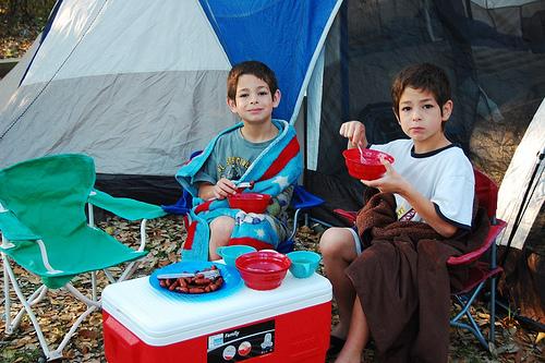 camp: breakfast