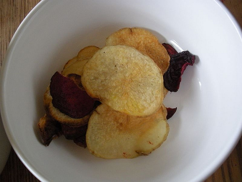 baked: homemade terra chips