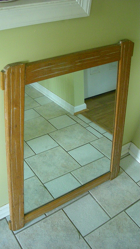 thrifted a. brandt mirror