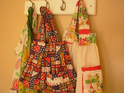 vintage apron bags