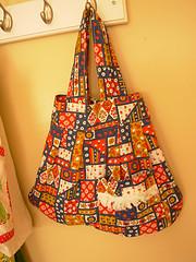 vintage apron bag