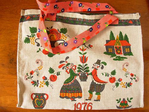 tea towel bag