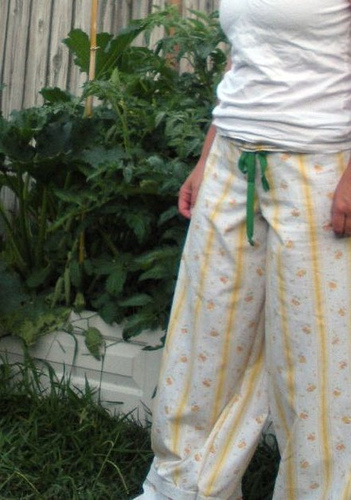 wide legged lounge pants