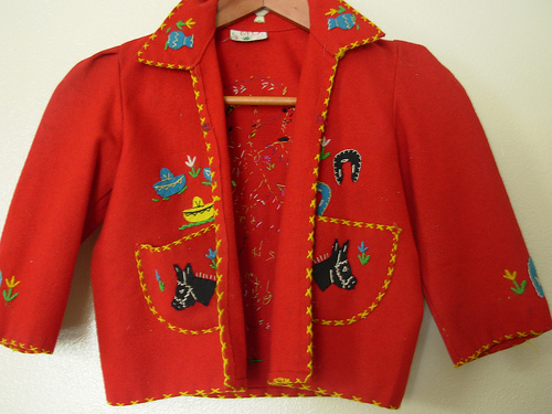 Child's Mexican Tourist Jacket