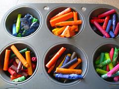 Cookie Crayons Before